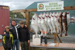 Greg Clark and his sons from Australia visited Kodiak Island this July.