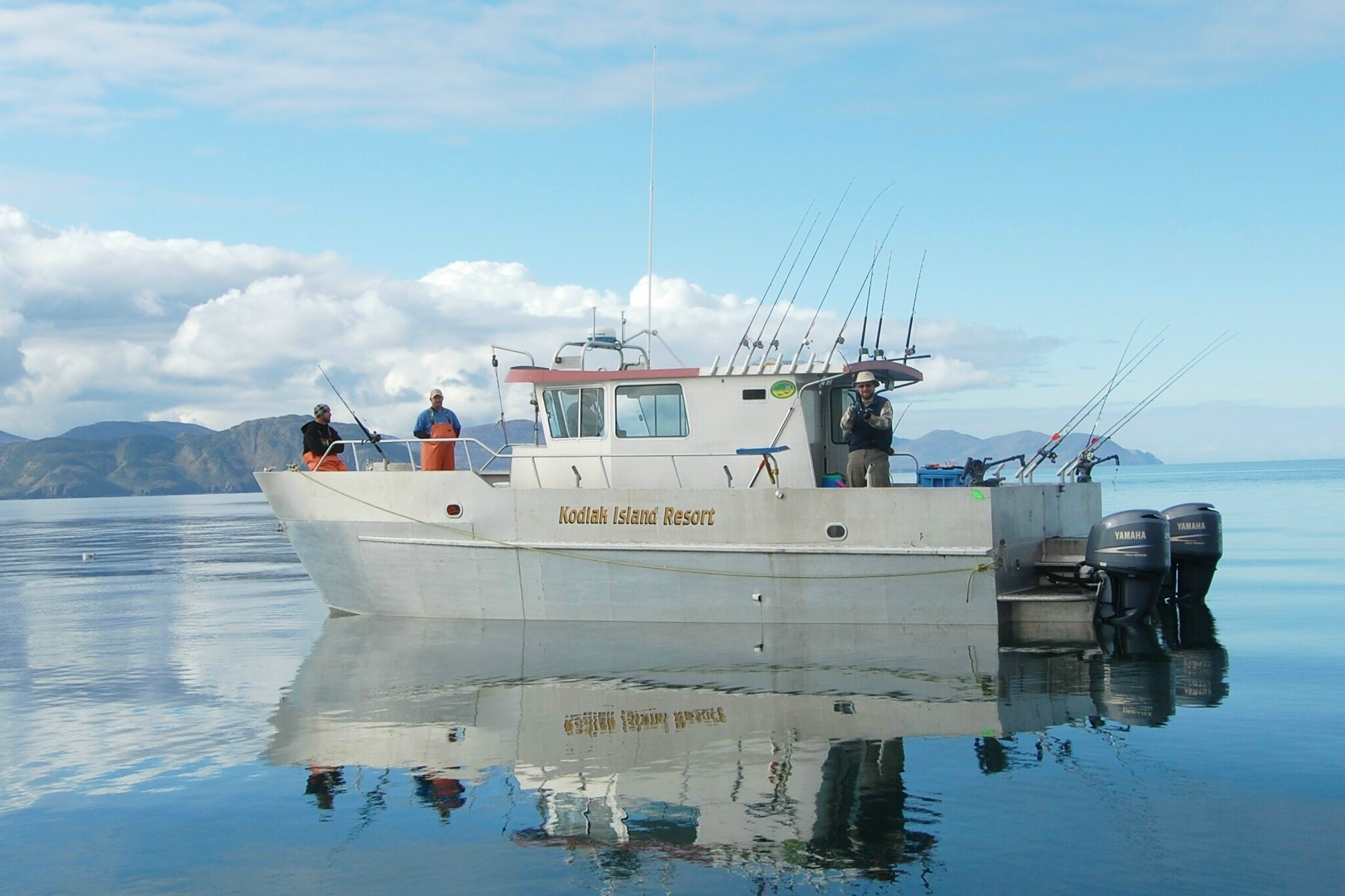 The ultimate alaska fishing machine luxury alaska for Alaska fishing boats